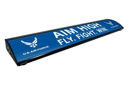 "AIM HIGH. (36"") (Personalized)"