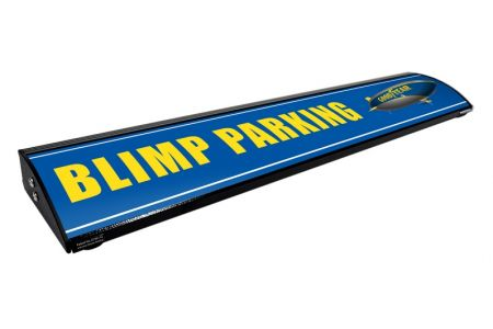 Goodyear Blimp Parking  (Personalized)