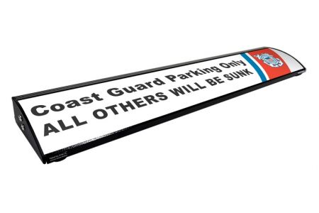 """Coast Guard Parking Only - All Others Will Be Sunk  (Personalized) (36"""")"""