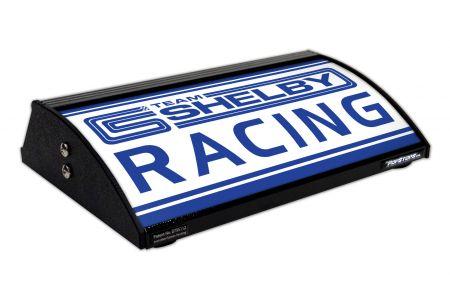 "SHELBY RACING  / TEAM (Shelby Cobra Logo) (12"")"