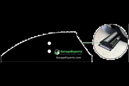 "Garage Experts - 3"" Custom End Caps Sets"
