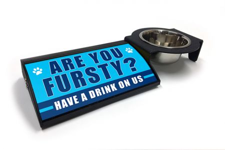 (P4P) Are you Fursty? HAVE A DRINK ON US - Combo Set (Right Mount) (B/W)