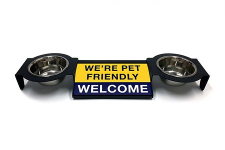 (P4P) We're Pet Friendly / Welcome - Combo Set (Double Mounts) (B/Y)