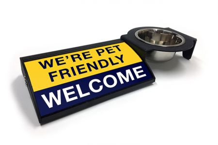 (P4P) We're Pet Friendly / Welcome - Combo Set (Right Mount) (B/Y)