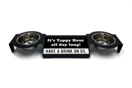(P4P) It's Yappy Hour all day long! - Combo Set (Double Mounts) (B/W)