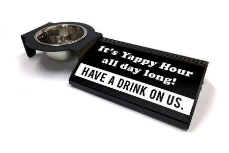 (P4P) It's Yappy Hour all day long! - Combo Set (Left Mount) (B/W)