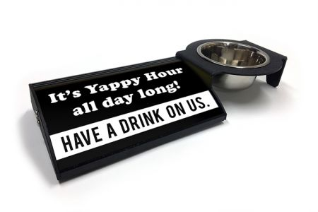 (P4P) It's Yappy Hour all day long! - Combo Set (Right Mount) (B/W)