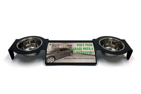 Garage Experts - (Full Ad) PopStops for Pets (Universal Sidewalk Advertising System)