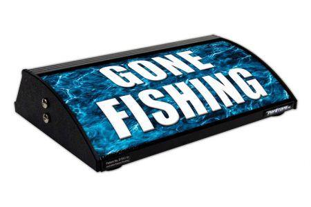 "GONE FISHING / FISH ON (12"")"