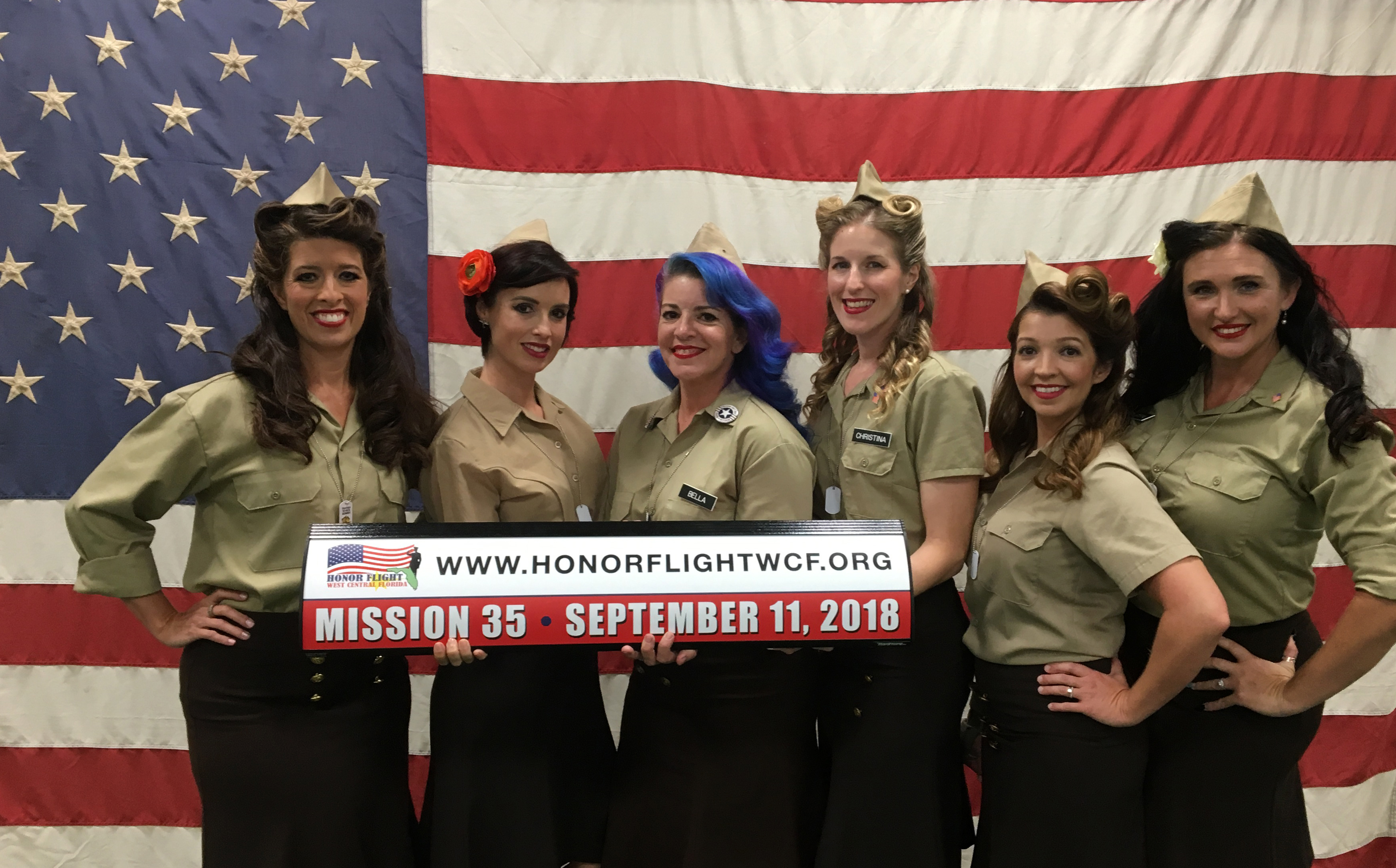PopStops Supports our Vets on 9/11 with Honor Flight of West Central Florida